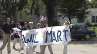wal mart in the trf parade