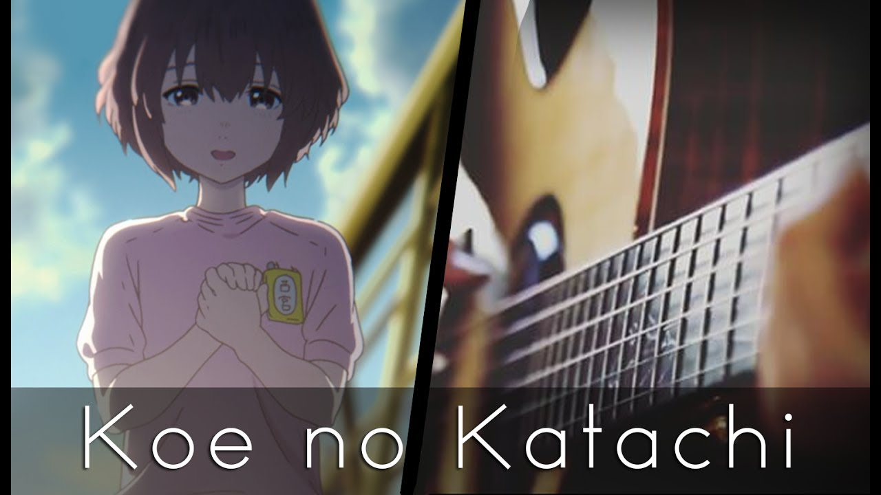 Koi wo shita no wa koe no katachi ed acoustic guitar for Koi no katachi