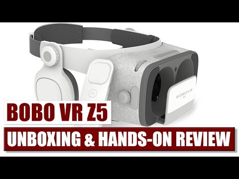 Better than the Daydream View? Bobo VR Z5 Unboxing & Hands-On Review
