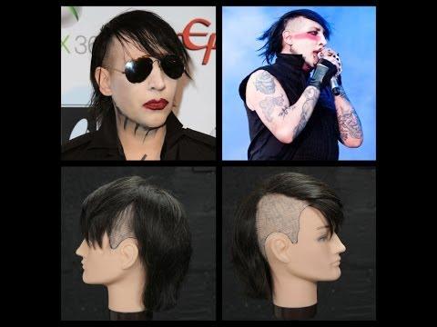Marilyn Manson Haircut & Hairstyle Tutorial