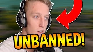 EPIC DECIDES TO UNBAN TFUES ACCOUNTS! (Fortnite EPIC & FUNNY Moments)