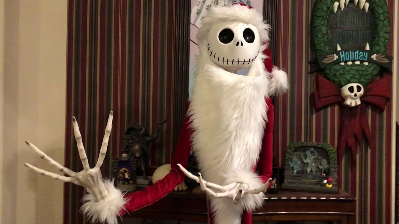 Diy jack skellington s body nightmare before christmas youtube - Custom Animatronic Jack Skellington Nightmare Before Christmas