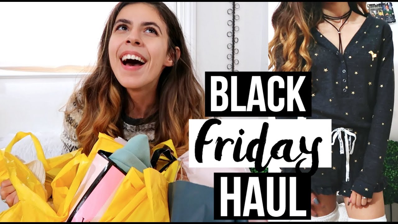 BLACK FRIDAY HAUL + HUGE ANNOUNCEMENT!! | Zara, VS Pink, Forever 21, and  More