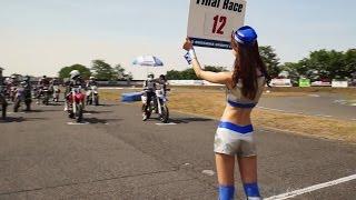 2015 SS Killers Round1 / Motor Cycle Race Footage / 桶川スポーツランド / ステディカム
