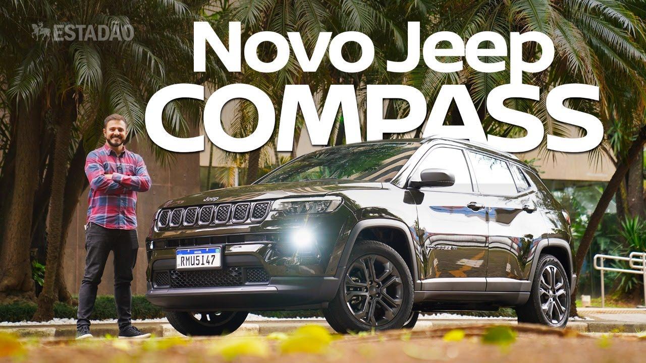 Teste: Jeep Compass 2022 série 80 Anos tem sabor do passado com tempero 1.3 turbo