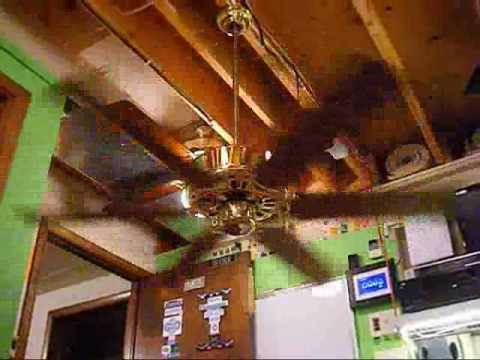 CEC Six Blade GE Vent Ceiling Fan