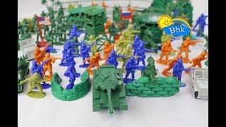 Домашние сражения игрушек ↑ Военные солдатики, танки, ракеты, нёрфы, катера, машинки ↑ Обзор игрушек