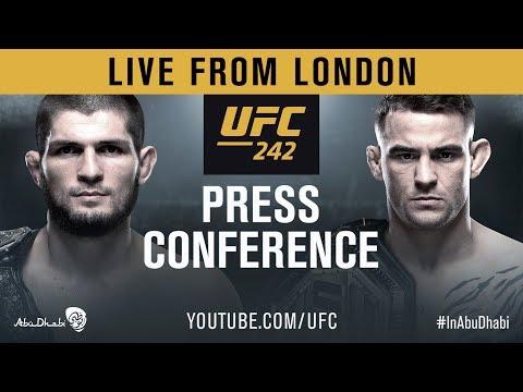 UFC 242 Press Conference: Khabib vs Poirier