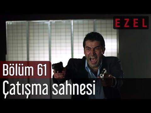 Ezel 61.Bölüm | Tuncel Kurtiz - Kenan İmirzalioğlu - Çatışma Sahnesi - HD