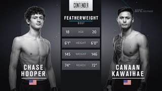 FREE FIGHT | 18-year-old Hooper Impresses | DWTNCS Week 6 Contract Winner - Season 2 thumbnail