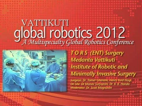 TORS Surgery: Cancer of the Epiglottis, VGR 2012