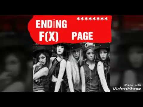 F(x) -Ending Page💕