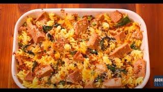 Fırında Ton Balıklı Makarna Tarifi (Glutensiz)