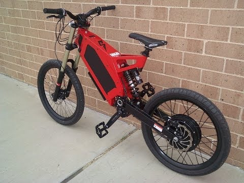 stealth bomber electric bicycle youtube. Black Bedroom Furniture Sets. Home Design Ideas