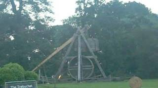 The Medieval Catapult At Warwick Castle