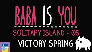 Baba Is You: Victory Spring - Solitary Island Level 05 Walkthrough (by Arvi Teikari / Hempuli)