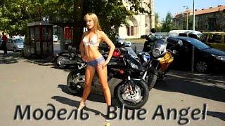 БОДИ-АРТ Модель - Blue Angel Девушка полностью голая ходит по улицам города(, 2017-03-08T04:53:39.000Z)