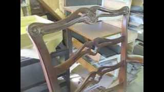 Making A New Backsplat For A Chippendale Chair - Thomas Johnson Antique Furniture Restoration