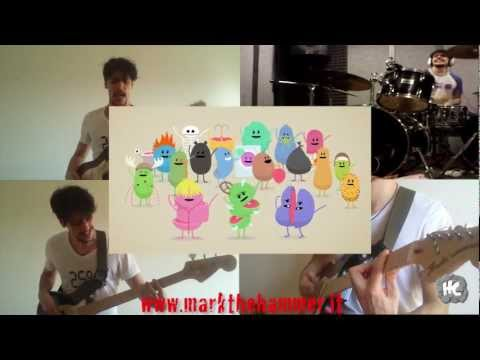 Dumb ways to die COVER ROCK (guitar, drums, bass)