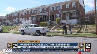 Man, woman found dead in Halethorpe murder-suicide identified