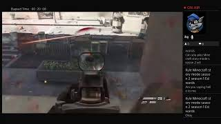 Comic tha Gamer Live PS4 Broadca CALL OF DUTY GHOST Part-2 Gameplay Walk-through