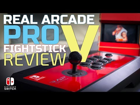 HORI Switch Arcade Pro V Fight Stick Review + Nintendo Switch GIVEAWAY!