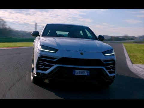 Lamborghini Urus: Racetrack warm-up lap in Vallelunga