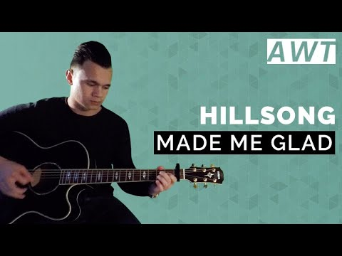 Made me glad - Hillsong (acoustic tutorial)