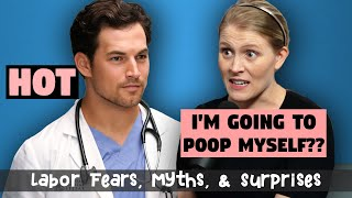 Labor Fears, Myths, & Surprises - Baby Steps Ep. 17