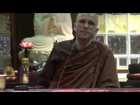 """Ven. Suddhaso """"Daily Application of the 4 Noble Truths"""" - 11/22/2015, part 3"""