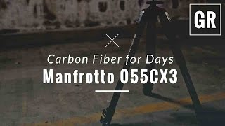 Manfrotto MT055XPRO3 Aluminium 3-section Tripod Review - Gadget Review