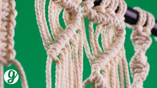 6 Basic Macrame Knots Beginners Need To Know | GRATEFUL