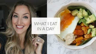 WHAT I EAT IN A DAY | Healthy & Clean