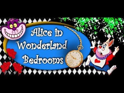 Alice in Wonderland bedrooms - down the rabbit hole we go