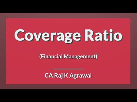 Coverage Ratio | Financial Management by CA Raj K Agrawal