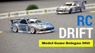 RC Drift 1:10 - Little cars Big fun! - Model Game Bologna 2015