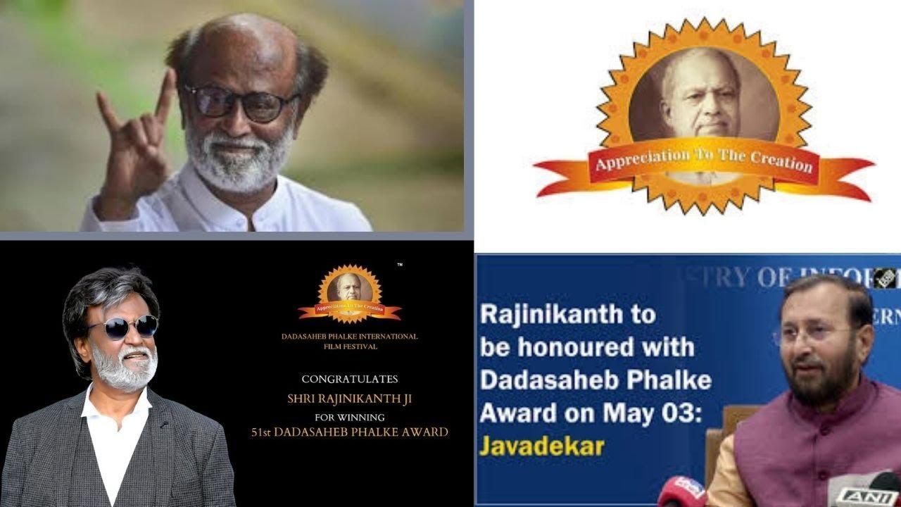 Dadasaheb Phalke for Ranijikanth