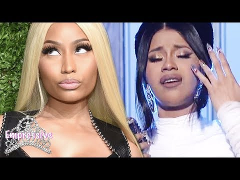 Nicki Minaj posted a mysterious message after Cardi B announced her pregnancy