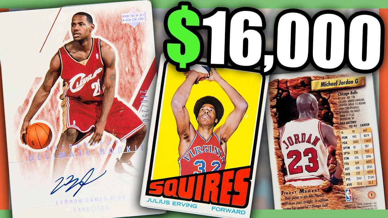 10 Expensive Basketball Cards Worth Money Lebron James Basketball Card Value