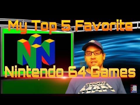 My Top 5 Favorite Nintendo 64 Games