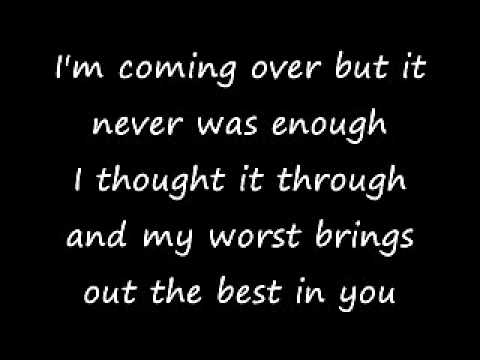 Taking Back Sunday - A Decade Under the Influence (lyrics)