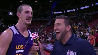 Alex Caruso Stars for Lakers at NBA Summer League!