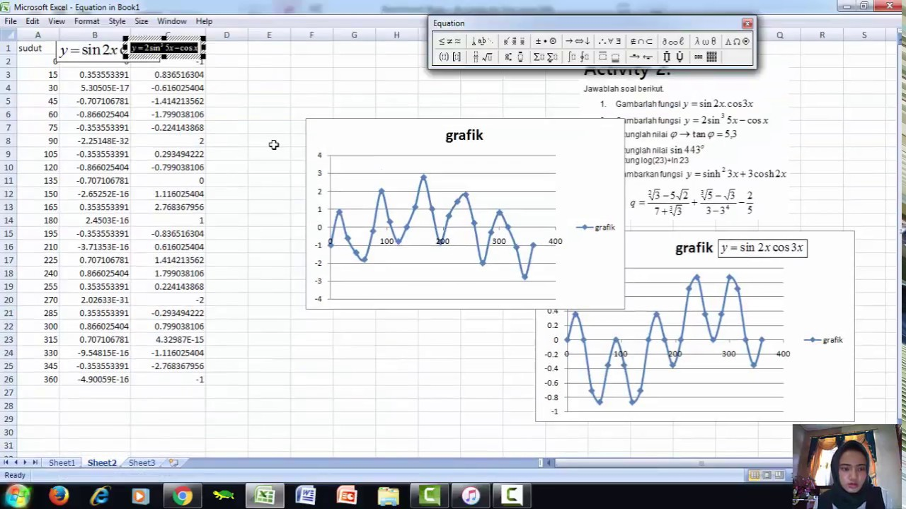 Tutorial membuat persamaan dan grafik di microsoft excel youtube tutorial membuat persamaan dan grafik di microsoft excel ccuart Gallery