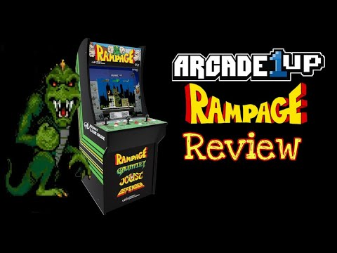 Arcade1up Rampage Cabinet Review from The Retro Cellar