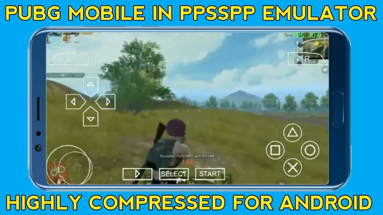 How to Download PUBG for Android PPSSPP - PSP Emulator in Highly Compressed  | With Gameplay Proof !!