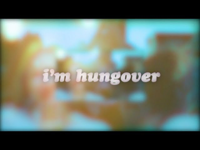 gnash - hungover & i miss u (official lyric video)