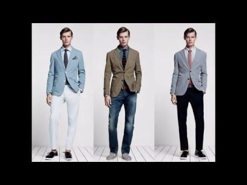 Moda casual formal para hombres