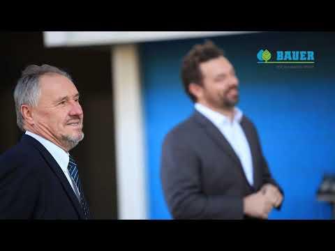 Visita do presidente e CEO do Grupo BAUER Sr. Otto Roiss