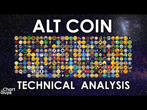 Bitcoin Ethereum XRP + Alts Technical Analysis Chart 10/6/2018 By ChartGuys.com