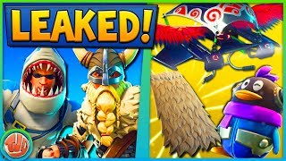 *LEAKED* SKINS, BEWEGENDE EMOTES, GLIDERS, PICKAXES & MEER!! - Fortnite: Battle Royale
